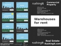 Warehouses for rent - Rushingit.com